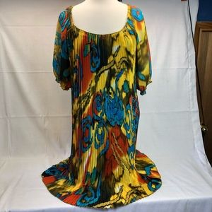 Milano Dress Size 12 Bright and Colorful